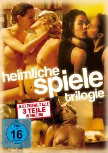 Heimliche Spiele (Die Trilogie), 3 DVDs