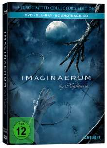 Imaginaerum by Nightwish (Blu-ray & DVD im Mediabook), 1 Blu-ray Disc, 1 DVD und 1 CD