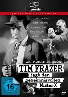 Francis Durbridge: Tim Frazer jagt den geheimnisvollen Mr. X, DVD