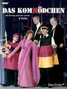 Das Kommödchen - Die Ära Kay und Lore Lorentz, 6 DVDs