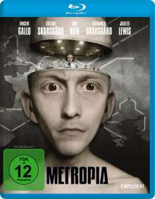 Metropia (Blu-ray), Blu-ray Disc