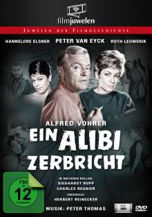 Ein Alibi zerbricht, DVD