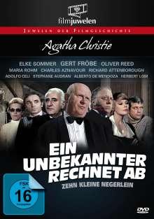 Ein Unbekannter rechnet ab (Zehn kleine Negerlein), DVD
