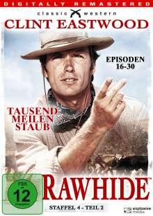 Rawhide - Tausend Meilen Staub Season 4 Box 2, 4 DVDs