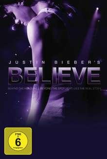 Justin Bieber's Believe (Fan Edition: Blu-ray & DVD & CD), 1 Blu-ray Disc, 1 DVD und 1 CD