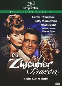 Der Zigeunerbaron (1962), DVD