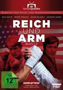 Reich und arm (Komplettbox), 9 DVDs