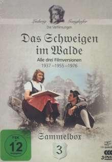 Die Ganghofer Verfilmungen Box 3: Das Schweigen im Wald, 3 DVDs