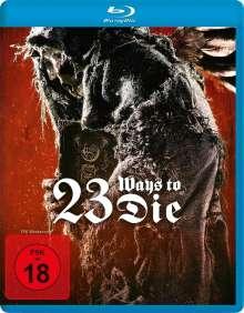 23 Ways to Die (Blu-ray), Blu-ray Disc
