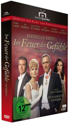 Im Feuer der Gefühle (Komplette Miniserie), 3 DVDs