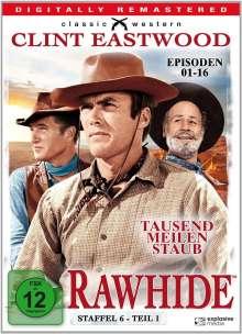 Rawhide - Tausend Meilen Staub Season 6 Box 1, 4 DVDs