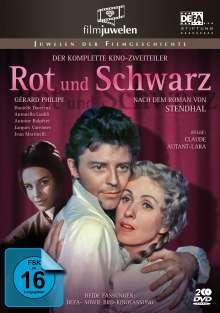 Rot und Schwarz, 3 DVDs