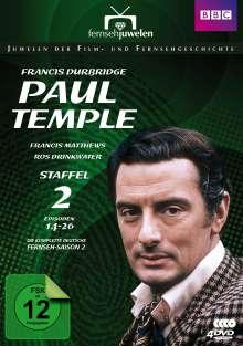Francis Durbridge: Paul Temple Staffel 2, 3 DVDs