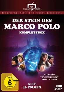 Der Stein des Marco Polo (Komplette Serie), 4 DVDs