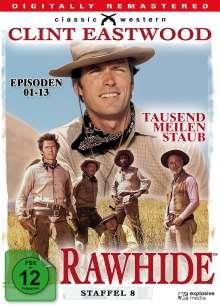 Rawhide - Tausend Meilen Staub Season 8 (finale Staffel), 4 DVDs