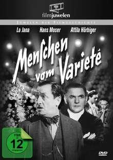Menschen vom Varieté, DVD