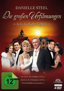 Danielle Steel - Die großen Verfilmungen: Schicksalhafte Gefühle, 6 DVDs