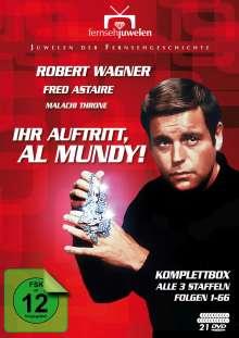 Ihr Auftritt, Al Mundy! (Komplettbox), 21 DVDs