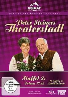 Peter Steiners Theaterstadl Staffel 2 (Folgen 17-32), 8 DVDs