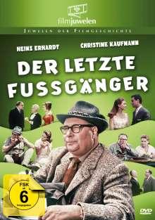 Der letzte Fußgänger, DVD