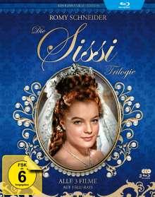 Sissi Trilogie (Königinnenblau Edition) (Blu-ray), 3 Blu-ray Discs