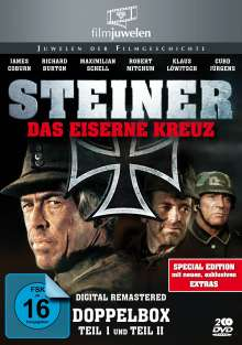 Steiner - Das Eiserne Kreuz I & II, 2 DVDs