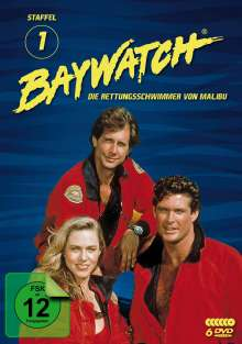 Baywatch Staffel 1, 6 DVDs
