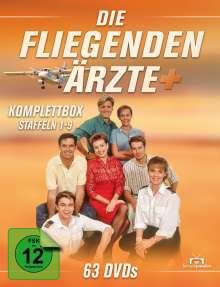 Die fliegenden Ärzte (Komplette Serie), 63 DVDs