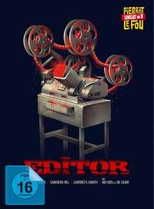 The Editor (Blu-ray & DVD im Mediabook), 1 Blu-ray Disc und 1 DVD