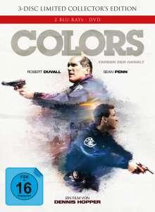 Colors - Farben der Gewalt (Blu-ray & DVD im Mediabook), 2 Blu-ray Discs und 1 DVD