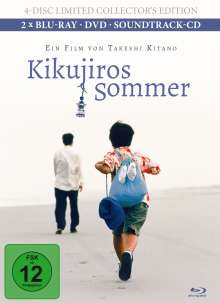 Kikujiros Sommer (Blu-ray & DVD im Mediabook), 2 Blu-ray Discs, 1 DVD und 1 CD