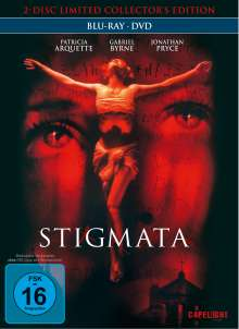 Stigmata (Blu-ray & DVD im Mediabook), 1 Blu-ray Disc und 1 DVD