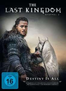 The Last Kingdom Staffel 2, 4 DVDs