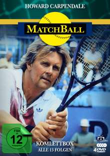 Matchball (Komplettbox), 3 DVDs