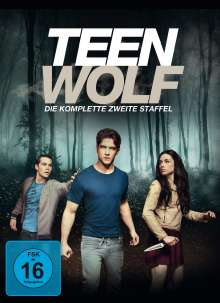 Teen Wolf Staffel 2 (Softbox), 4 DVDs