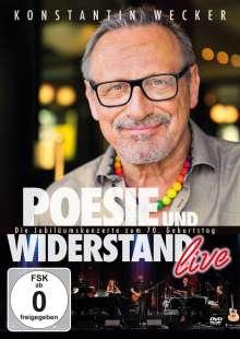 Konstantin Wecker: Poesie und Widerstand live - Die Jubiläumskonzerte zum 70. Geburtstag, 3 DVDs