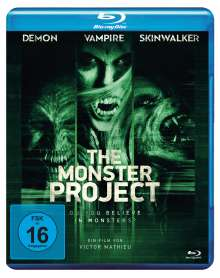 The Monster Project (Blu-ray), Blu-ray Disc