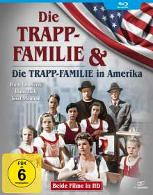 Die Trapp-Familie / Die Trapp-Familie in Amerika (Blu-ray), 2 Blu-ray Discs