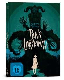 Pans Labyrinth (Blu-ray & DVD im Mediabook), 2 Blu-ray Discs und 1 DVD