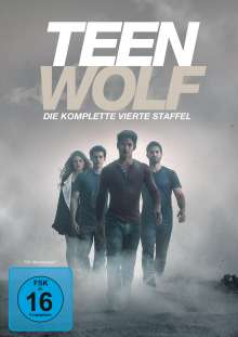Teen Wolf Staffel 4 (Softbox), 4 DVDs