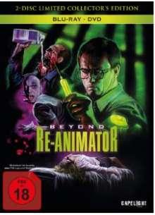 Beyond Re-Animator (Blu-ray & DVD im Mediabook), 1 Blu-ray Disc, 1 DVD und 1 CD