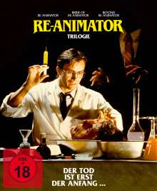 Re-Animator 1-3 (Blu-ray), 3 Blu-ray Discs
