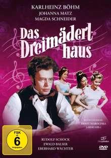 Das Dreimäderlhaus, DVD