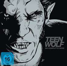 Teen Wolf Staffel 1-6 (Komplettbox als Book-Edition), 35 DVDs