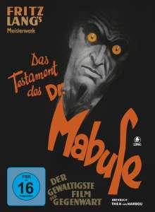 Das Testament des Dr. Mabuse (Blu-ray & DVD im Mediabook), 1 Blu-ray Disc und 1 DVD