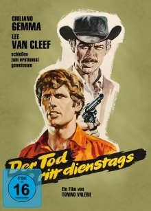 Der Tod ritt dienstags (Blu-ray & DVD im Mediabook), 1 Blu-ray Disc und 1 DVD
