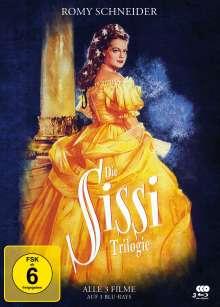 Sissi Trilogie (Blu-ray im Mediabook), 3 Blu-ray Discs