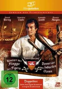 Unter der Flagge des Tigers / Donner über dem Indischen Ozean, 2 DVDs
