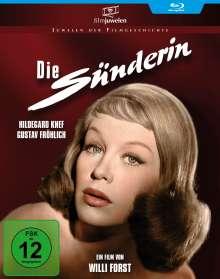 Die Sünderin (Blu-ray), Blu-ray Disc