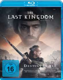 The Last Kingdom Staffel 3 (Blu-ray), 4 Blu-ray Discs